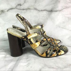 💥 Ash snake sandals